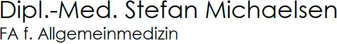 Dipl.-Med. Stefan Michaelsen FA f. Allgemeinmedizin Logo